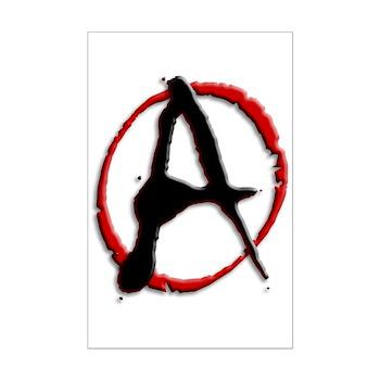 Anarchy Now Mini Poster Print