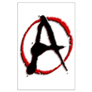 Anarchy Now Large Poster