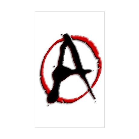 Anarchy Now Rectangle Sticker