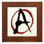 Anarchy Now Framed Tile