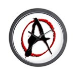 Anarchy Now Wall Clock