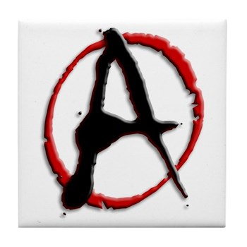 Anarchy Now Tile Coaster