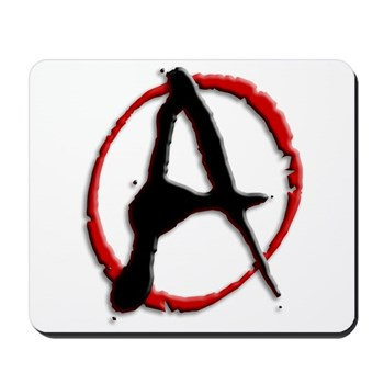 Anarchy Now Mousepad