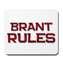 brant rules Mousepad