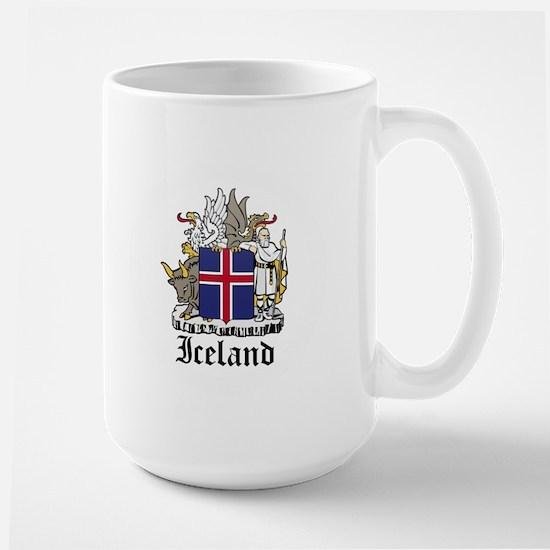 Icelander Coat of Arms Seal Large Mug