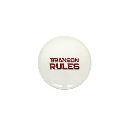 branson rules Mini Button (10 pack)