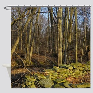 Stonewall Scenery Shower Curtain