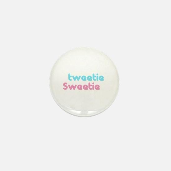 tweetie sweetie Mini Button