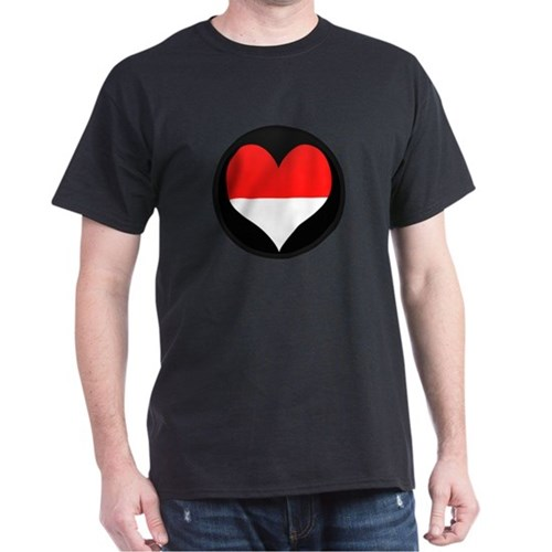 I love Indonesia Flag T-Shirt