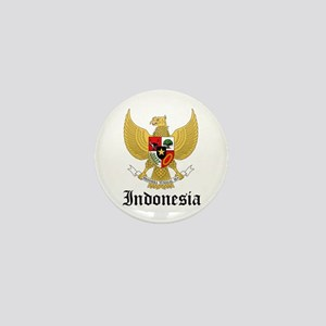 Indonesian Coat of Arms Seal Mini Button