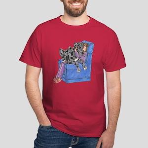 NMrl Chair Hug Dark T-Shirt