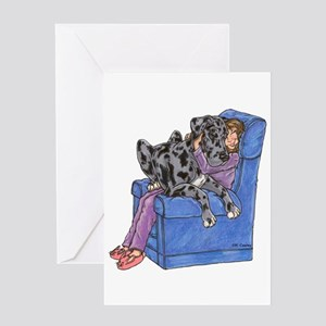 NMrl Chair Hug Greeting Card
