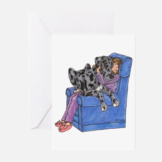 NMrl Chair Hug Greeting Cards (Pk of 10)