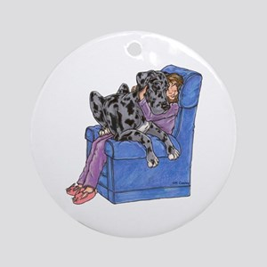 NMrl Chair Hug Ornament (Round)