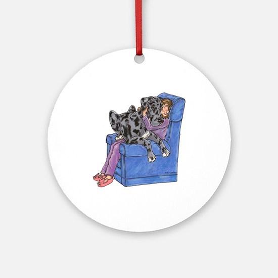 NMrl Chair Hug Ornament (Round)
