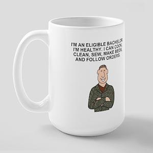 Co B, 132nd SB <BR>Eligible Bachelor Mug
