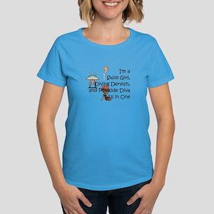 Swim Diva Women's Dark T-Shirt