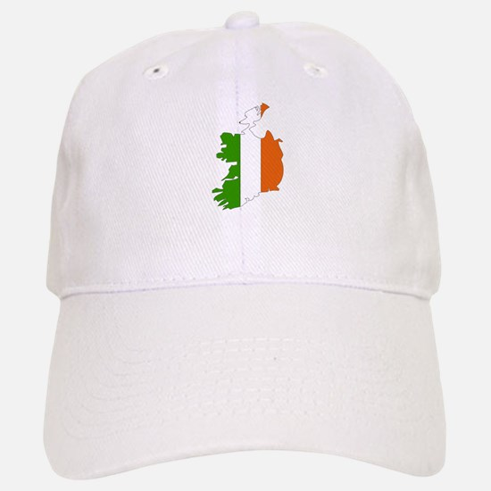 Ireland Flag Map Baseball Baseball Cap