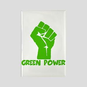 Green power Rectangle Magnet