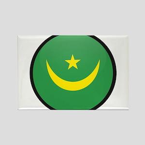 Mauritania Rectangle Magnet