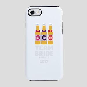 Team Bride Finland 2017 Ck36v iPhone 7 Tough Case