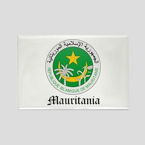 Martiniquais Coat of Arms Sea Rectangle Magnet