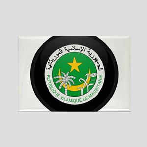 Coat of Arms of Mauritania Rectangle Magnet
