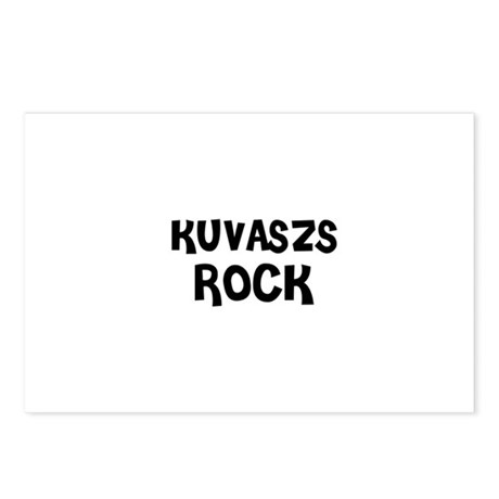 KUVASZS ROCK Postcards (Package of 8)