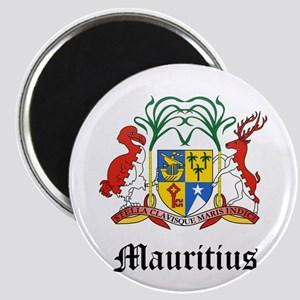 Mauritiusn Coat of Arms Seal Magnet