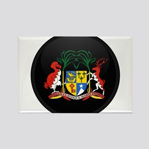 Coat of Arms of Mauritius Rectangle Magnet