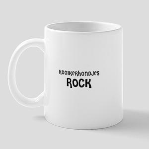 KOOIKERHONDJES ROCK Mug