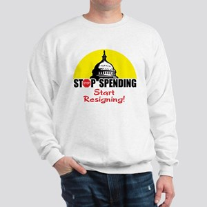 Stop Spending Start Resigning Sweatshirt