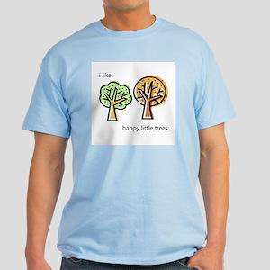 """Happy Trees"" Light T-Shirt"