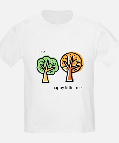 """Happy Trees"" T-Shirt"