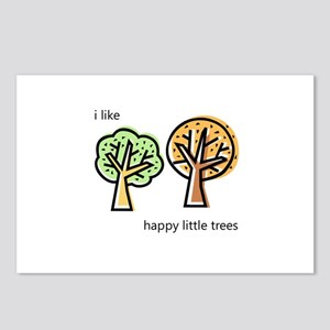 """""""Happy Trees"""" Postcards (Package of 8)"""