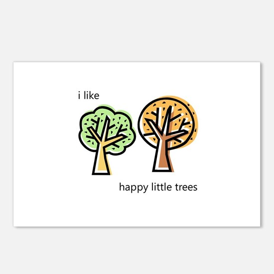 """Happy Trees"" Postcards (Package of 8)"