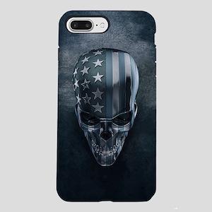 American Flag Skull iPhone 7 Plus Tough Case