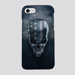 American Flag Skull iPhone 7 Tough Case