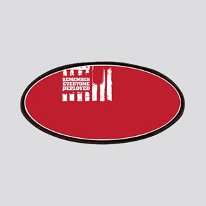 Red Friday American Military Patch