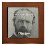 Prejudice William James Framed Tile