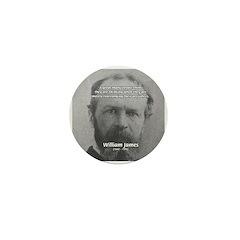 Prejudice William James Mini Button (100 pack)