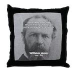 Prejudice William James Throw Pillow