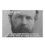Prejudice William James Postcards (Package of 8)