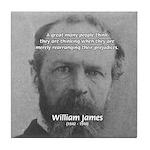 Prejudice William James Tile Coaster