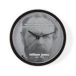 Prejudice William James Wall Clock