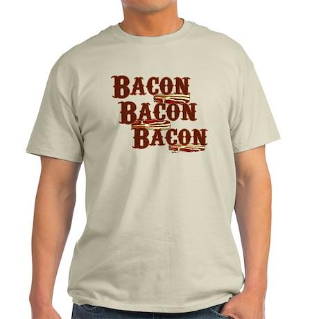 Bacon, Bacon, Bacon Light T-Shirt
