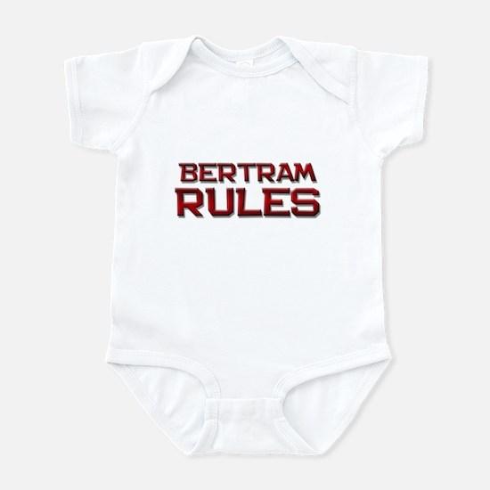 bertram rules Infant Bodysuit