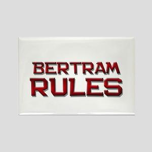 bertram rules Rectangle Magnet