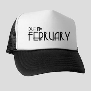 B&W Urban Heart Due February Trucker Hat
