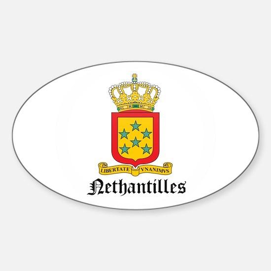 NETHERLAND-nethantilles Oval Decal